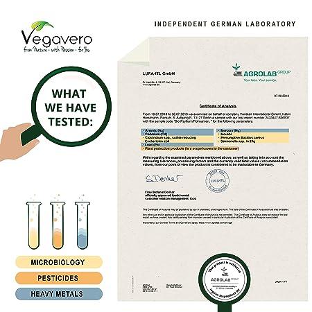 Psyllium Orgánico Vegavero® | 3000 mg | Testado en Laboratorio | Saciante Apetito + Limpieza Intestinal + Laxante Natural | 180 Cápsulas | Sin ...