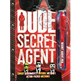 DUDE Secret Agent - boys 8-12 - journalling fun with invisible ink pen