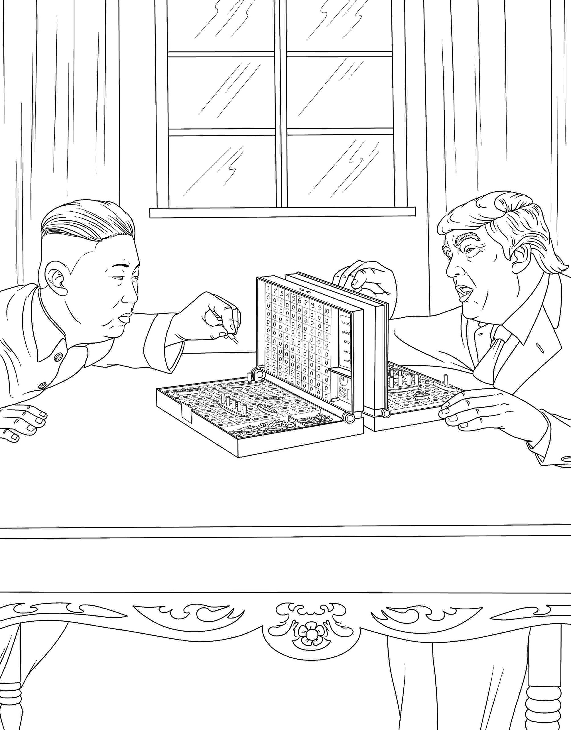 Amazon The Trump Coloring Book M G Anthony