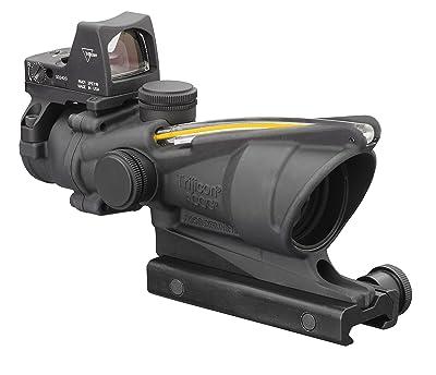 Acog 4 X 32 Scope Dual Illuminated Crosshair .223 Ballistic Reticle