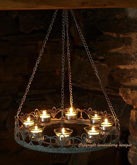 Chandelier tea light chandelier t light chandelier chic style chandelier tea light chandelier t light chandelier chic style shabby vintage old look aloadofball Gallery