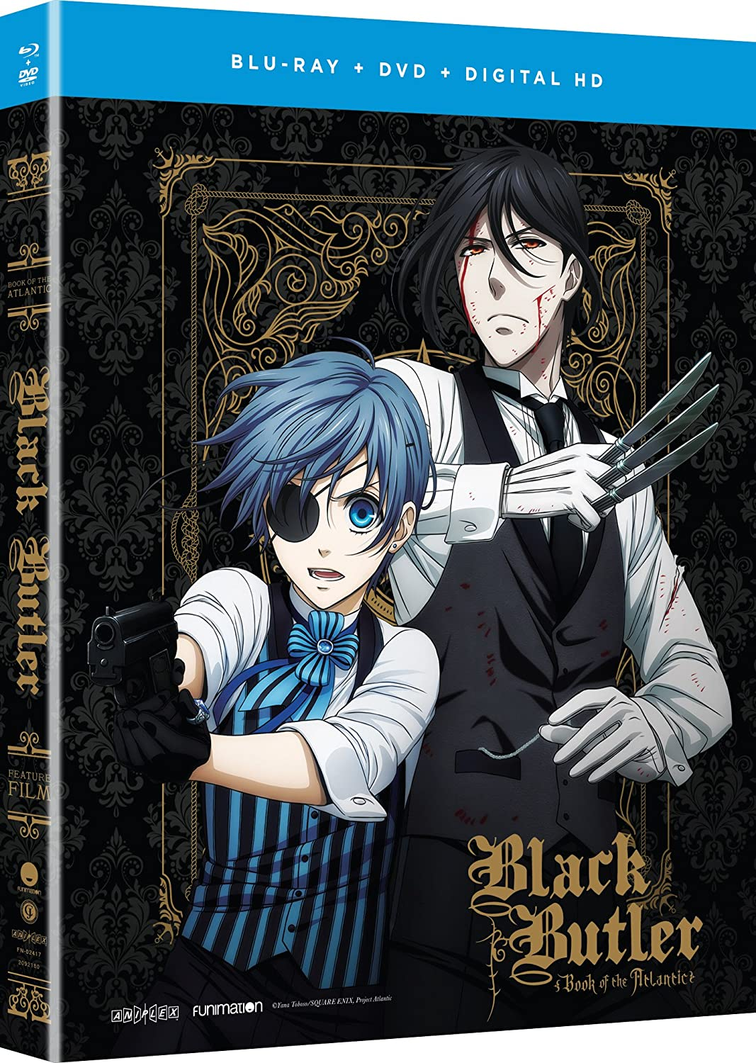 Black Butler: Book of the Atlantic Movie Blu-ray/DVD (Dual Audio)