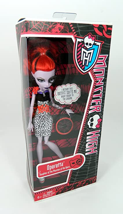 Amazon.com: Monster High Operetta 2012 Fashion: Toys & Games