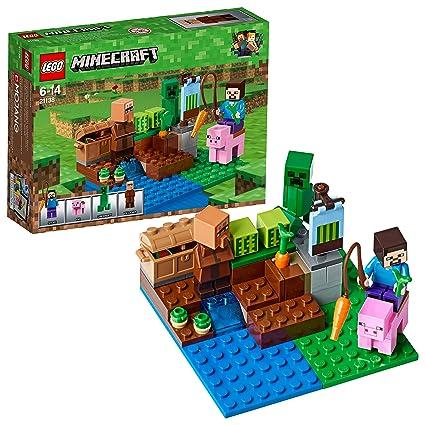 Lego Minecraft La Granja De Melones 21138 Amazon Es Juguetes Y