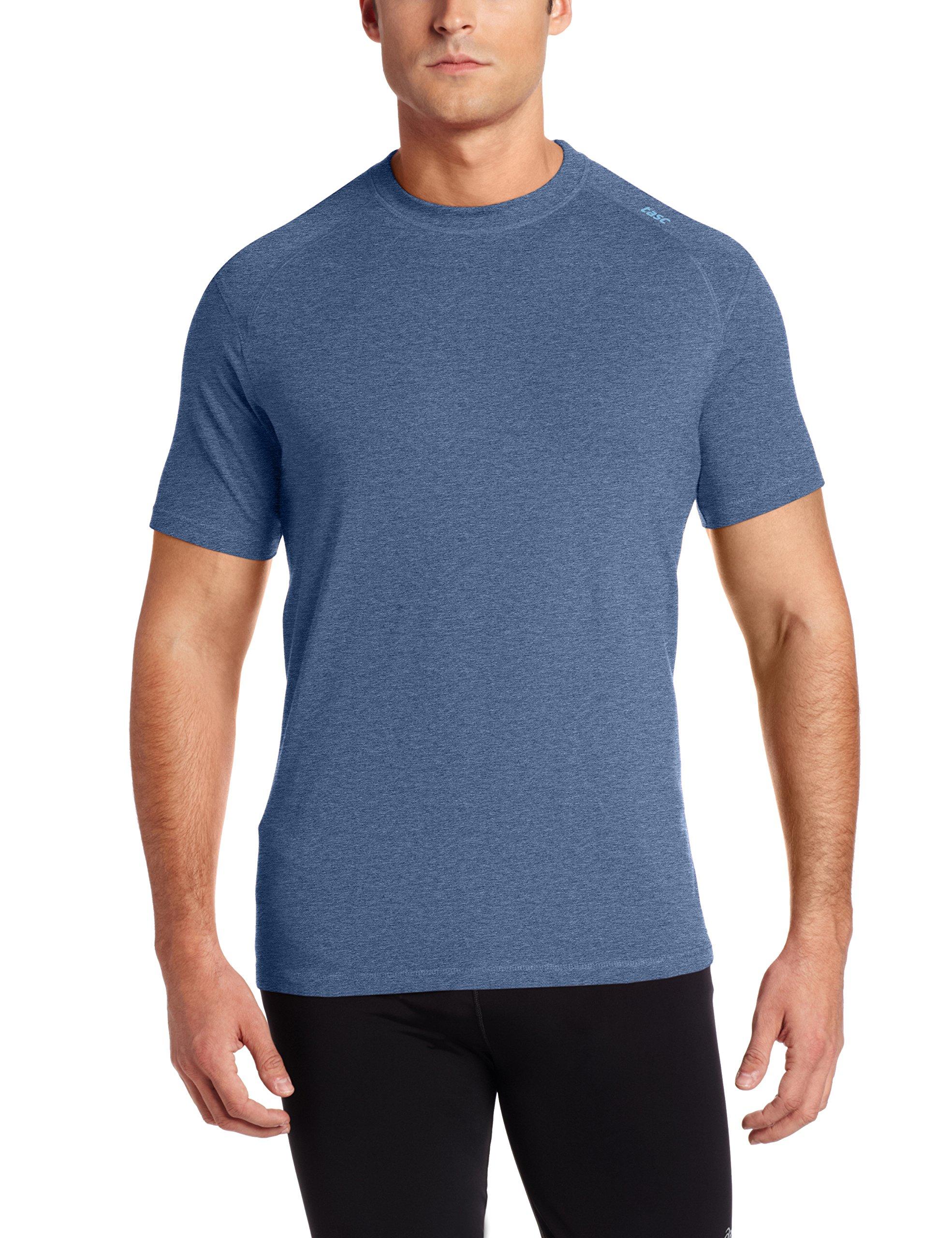 tasc Performance Carrollton T-Shirt, Indigo Heather, XX-Large by tasc Performance