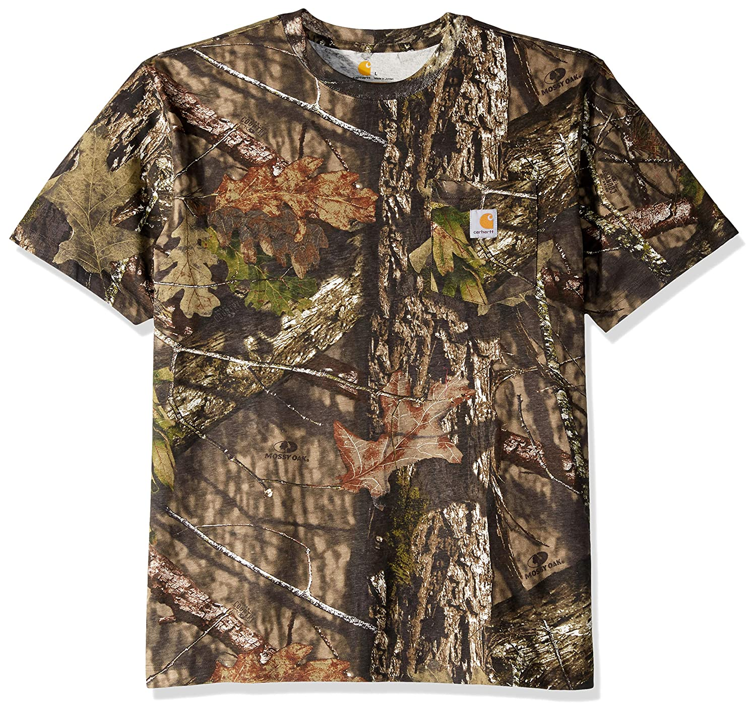 d5f8228e Carhartt Men's Camo Short Sleeve T Shirt | Amazon.com