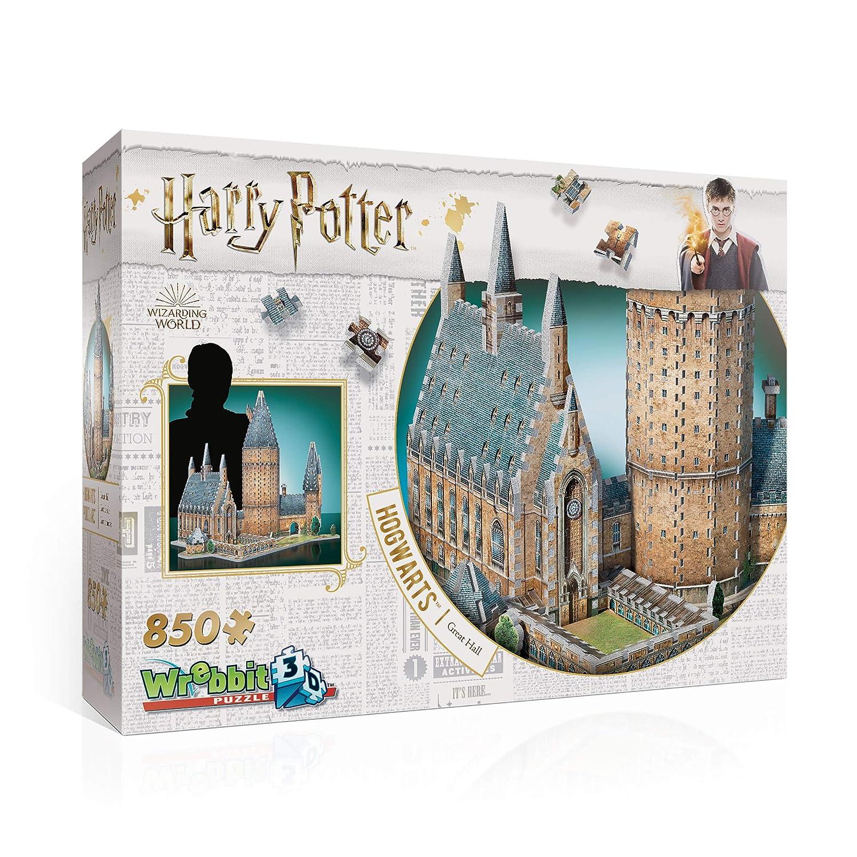 Wrebbit 3D W3D-2014 Harry Potter Hogwarts Great Hall Puzzle, Multicolor Spielen / Raten