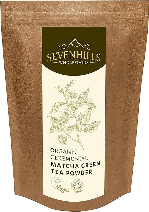 6 opinioni per Sevenhills Wholefoods Polvere Di Tè Verde Matcha Cerimoniale Giapponese Crudo