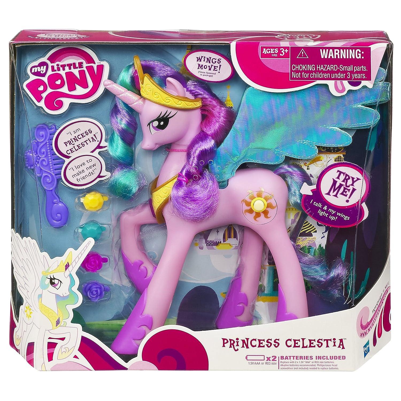 amazoncom my little pony talking princess celestia toys games