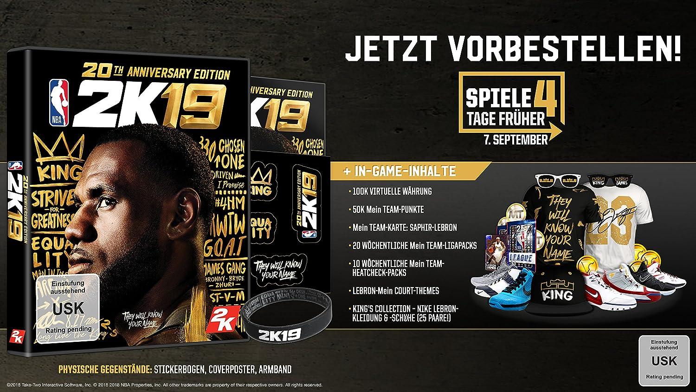 NBA 2K19 20th Anniversary Edition - Xbox One [Importación alemana ...