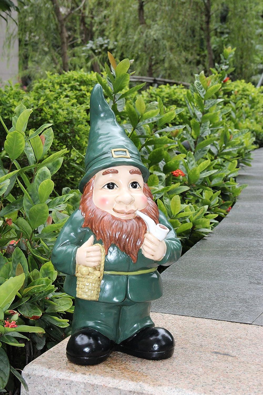 Lucky Irish Leprechaun Garden Statue / Ornament - Indoor or Outdoor ...