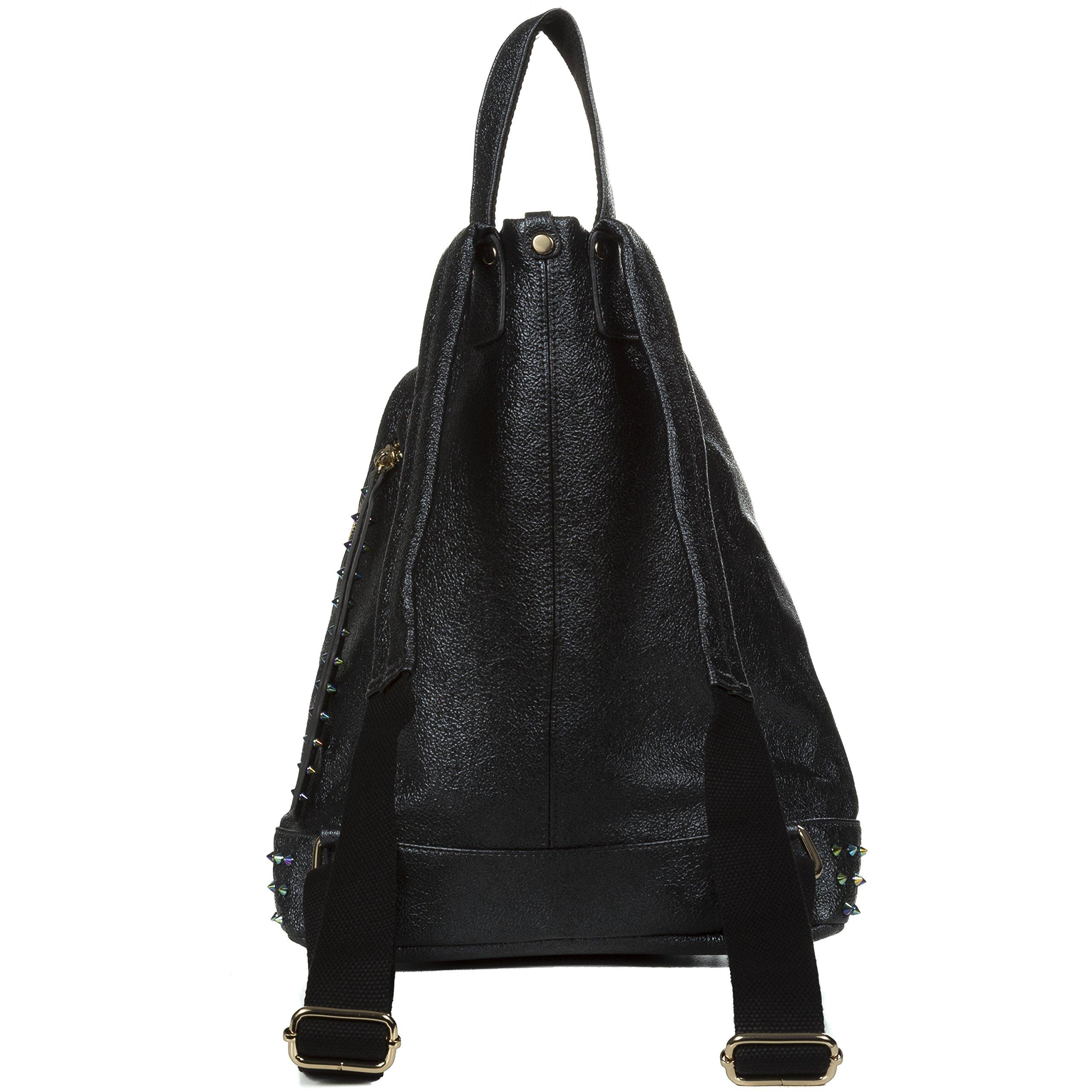 Handbag Republic Fashion Backpack Vegan Leather Travel Bag Easy Carry For Women by Handbag Republic (Image #4)