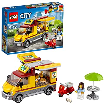 LEGO 60150 City Great Vehicles Pizza Van Construction Toy: LEGO ...