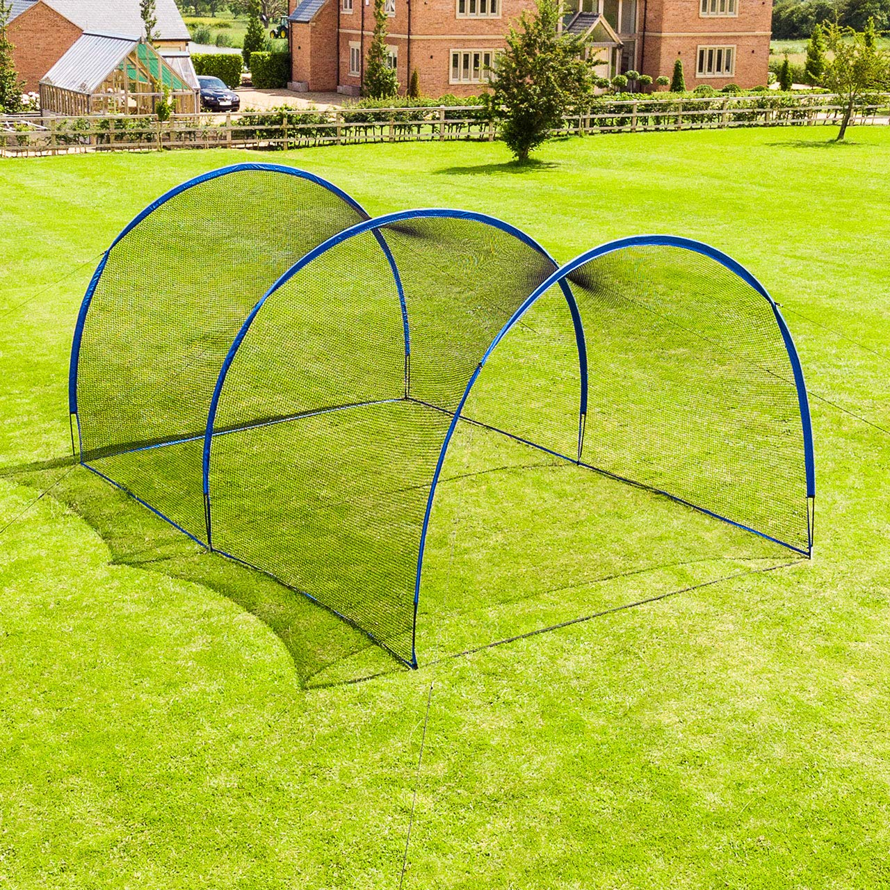 Fortress Pop-Up Baseball Batting Cage - Backyard Batting & Pitching Practice [20ft Or 40ft] (20ft Batting Cage) by Fortress