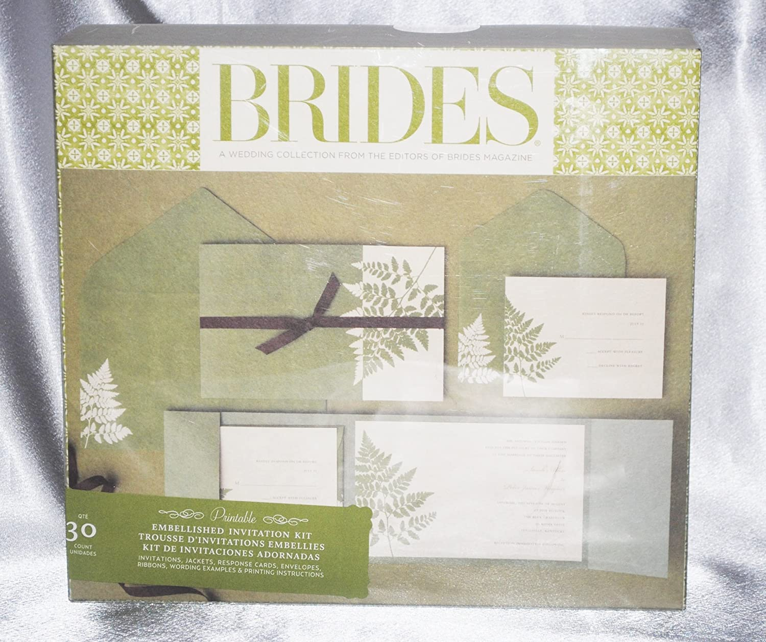 brides magazine wedding invitation kit amazoncouk kitchen home - Brides Wedding Invitation Kits
