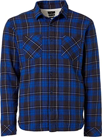 Quiksilver Sherpa - Camisa de Franela para Hombre (Talla Mediana): Amazon.es: Ropa y accesorios