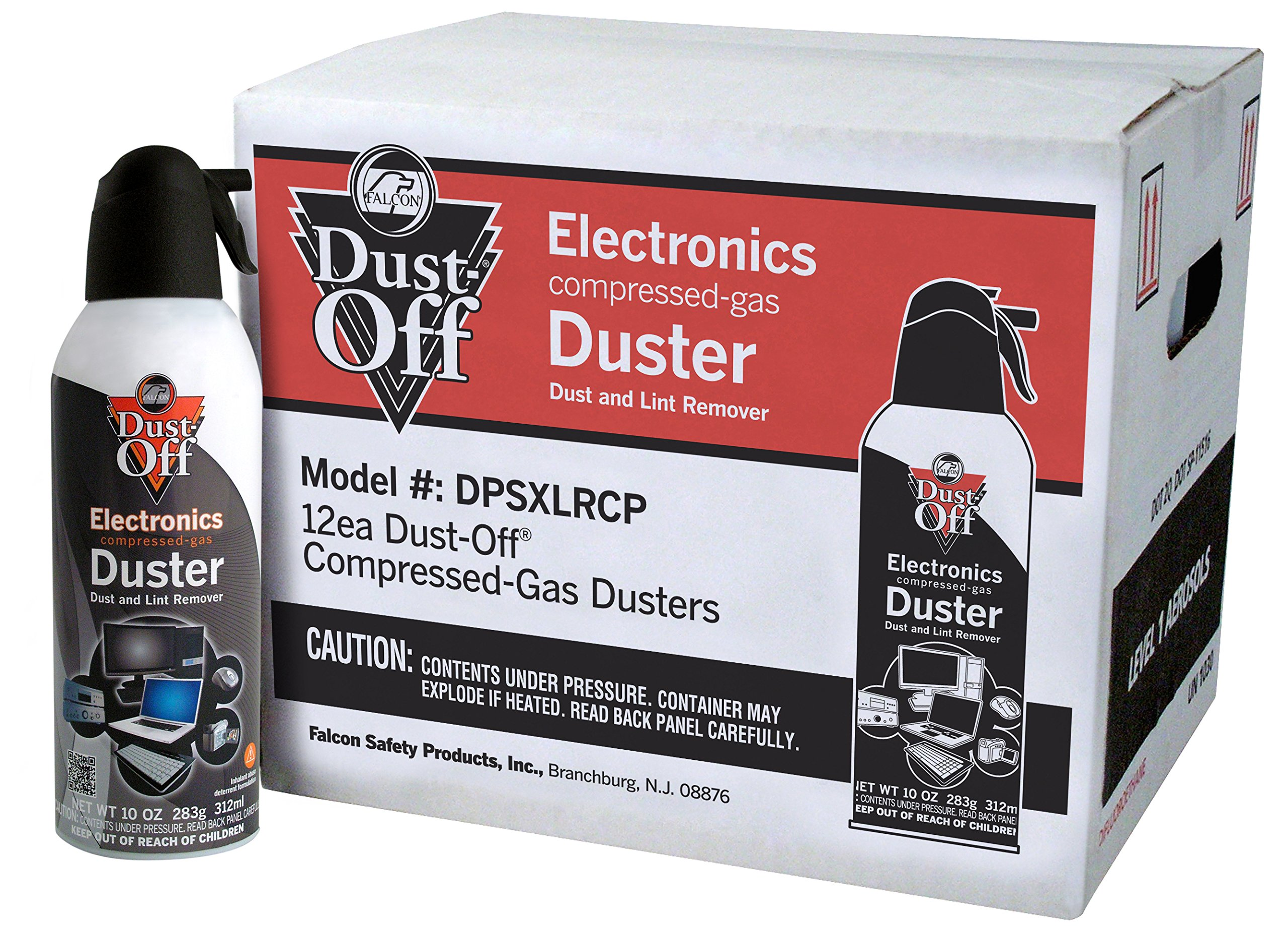 Dust-Off DPSXLRCP Disposable Duster, 10 oz.