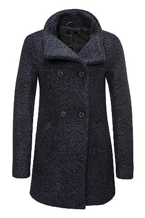 100% authentic 100% quality new arrive ONLY Damen Winterjacke Wolljacke Kurzmantel Wollmantel
