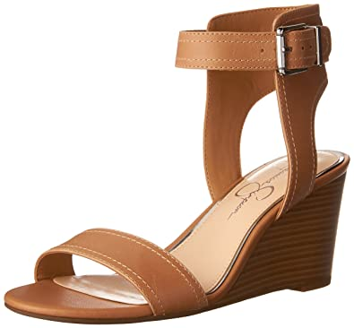a10664b630d Jessica Simpson Women s CRISTABEL Wedge Sandal