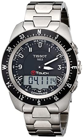 054eaca4693a Image Unavailable. Image not available for. Color  Tissot Men s  T0134204405700 T-Touch Expert Pilot Black ...