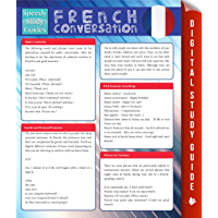 French Conversation (Speedy Study Guides) (French Edition)