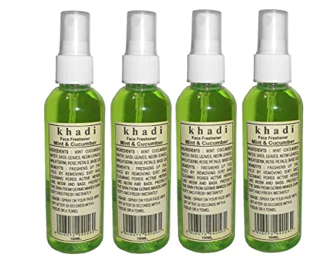 9d2dcae70 Buy Khadi Face Freshner - Mint   Cucumber 400ml Online at Low Prices in  India - Amazon.in