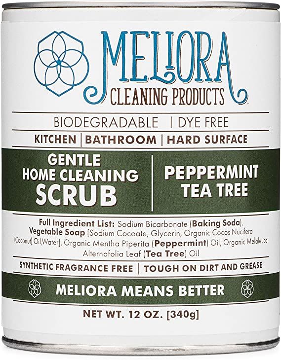 Meliora Cleaning Products Gentle Home Cleaning Scrub - Scouring Cleanser