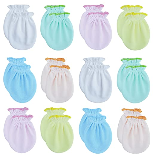 3a48937f1 Amazon.com  RATIVE Newborn Baby Boys and Girls Gloves