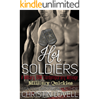 Her Soldiers: A Military BBW Contemporary Menage (Military Quickies Book 1)
