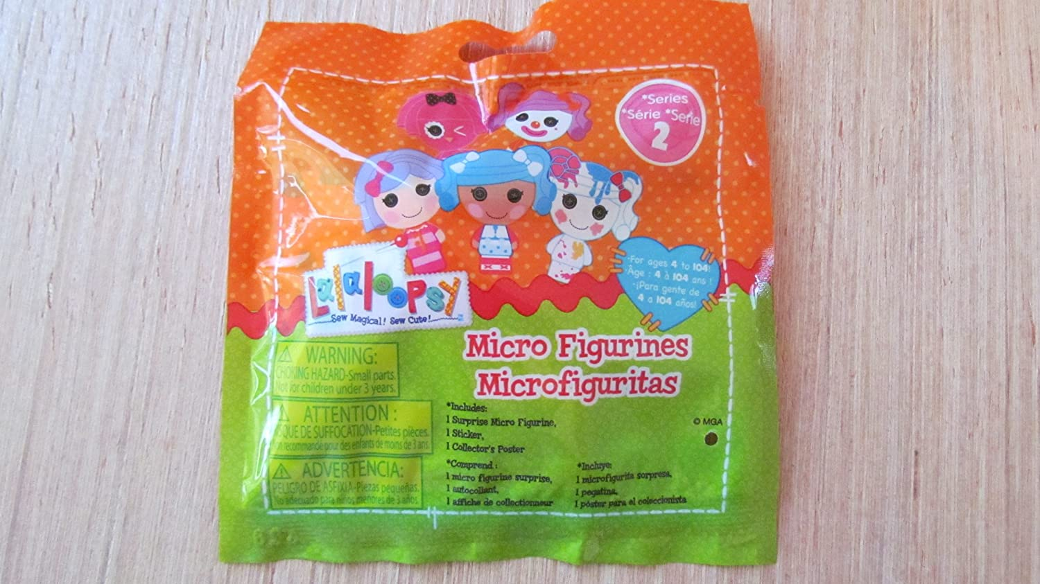 Lalaloopsy Series 2 Micro Fiigure - 1 Sealed Random Figure