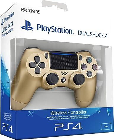 Sony - Dualshock 4 V2 Mando Inalámbrico, Color Dorado (PS4): Sony: Amazon.es: Videojuegos