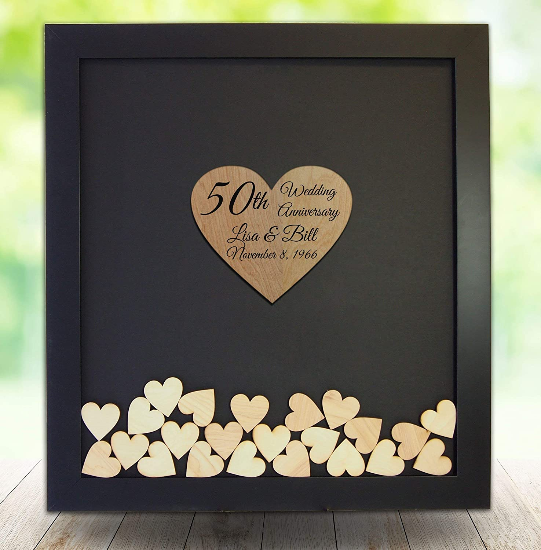 50th Wedding Anniversary Gift Ideas.Amazon Com 50th Wedding Anniversary Gift Golden Wedding Guest