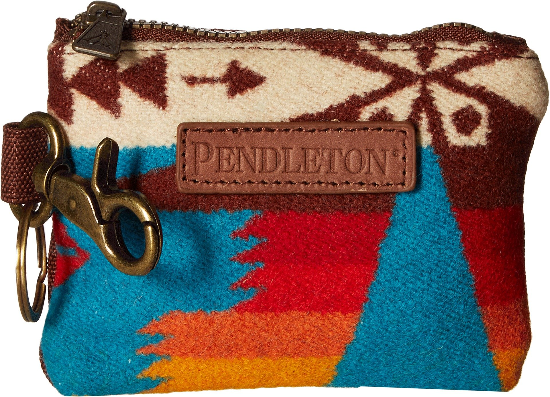 Pendleton Women's ID Pouch Key Ring Tucson Turquoise One Size