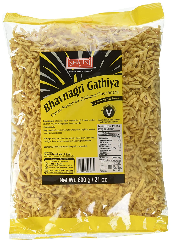 Amazon com : Shalini, Bhavnagri Gathiya, 600 Grams(gm) : Grocery