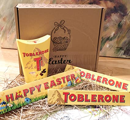Toblerone easter gift box limited edition happy easter toblerone toblerone easter gift box limited edition happy easter toblerone tinys and 2 more chocolate negle Choice Image