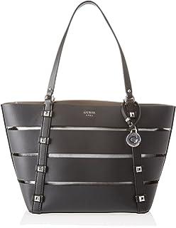 Guess - Bags Hobo, Shoppers y bolsos de hombro Mujer, Negro (Black)