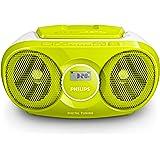 Philips CD Soundmachine, Radio Integrata, Controlli da lettore CD, Verde