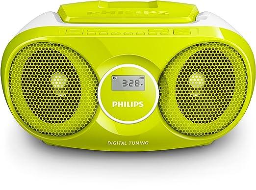 9 opinioni per Philips CD Soundmachine, Radio Integrata, Controlli da lettore CD, Verde