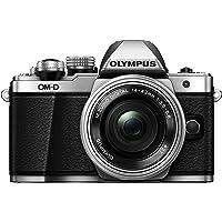 Olympus OM-D E-M10 Mark II Mirrorless Digital Camera with 14-42mm EZ Lens (Silver)
