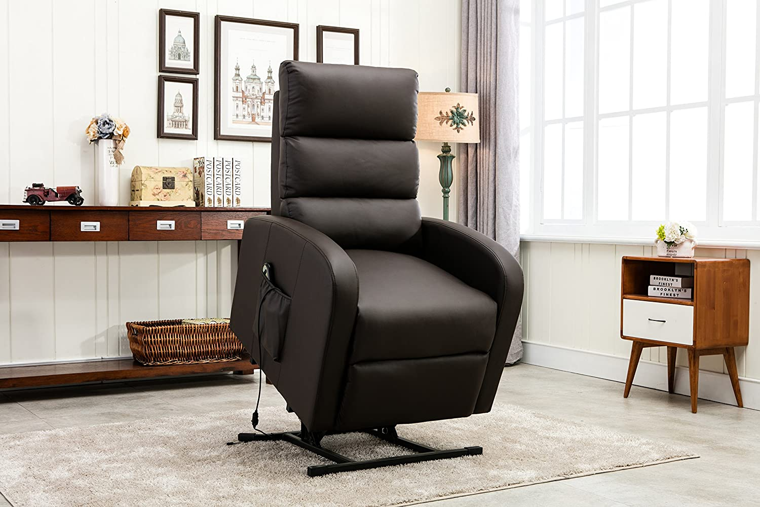 power lift recliner chair rc medical assist wall hugger lounge seat