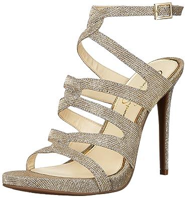 79768997342 Amazon.com  Jessica Simpson Women s REYSE Heeled Sandal  Shoes