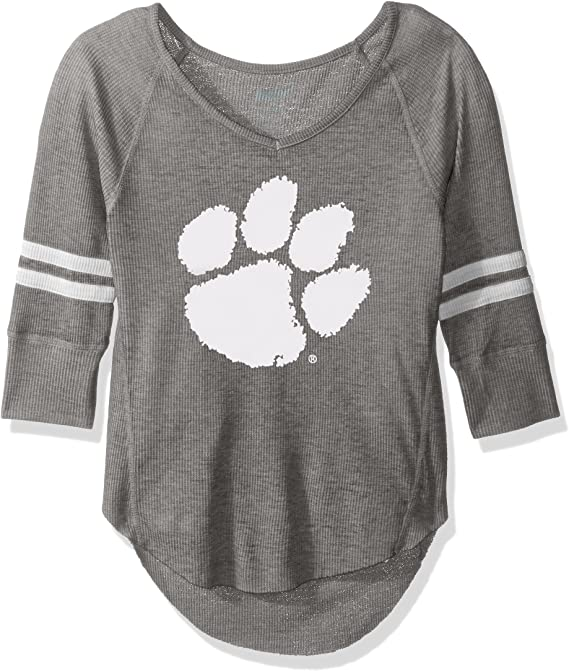 Large NCAA Oregon State Beavers Juniors Outerstuff Relaxed 3//4 Raglan Thermal Top 11-13 Team Color