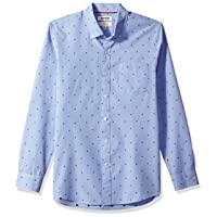 Amazon Brand - Goodthreads Men's Slim-Fit Long-Sleeve Dobby Shirt