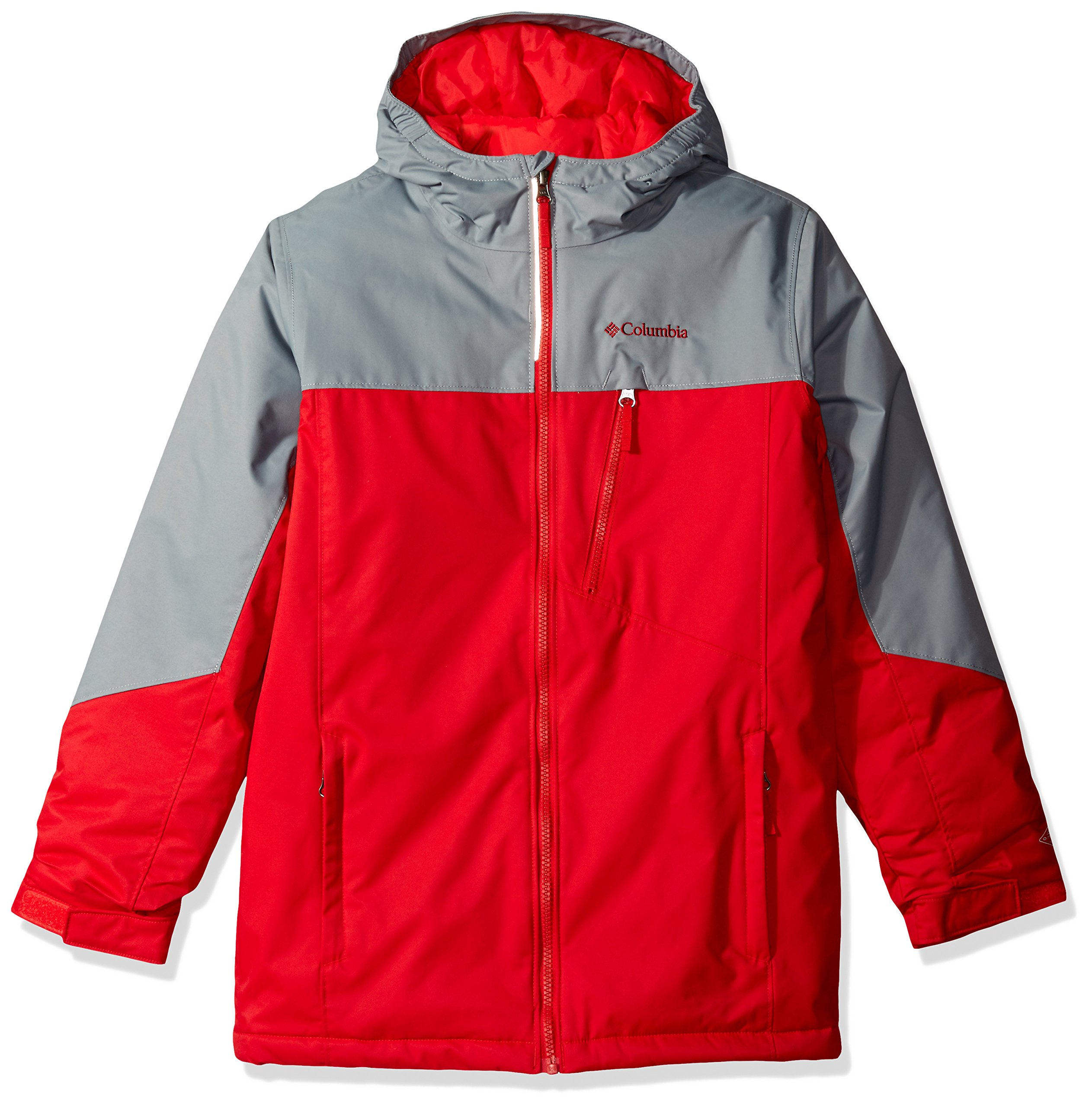 Columbia Boys Double Grab Jacket, Medium, Mountain Red by Columbia