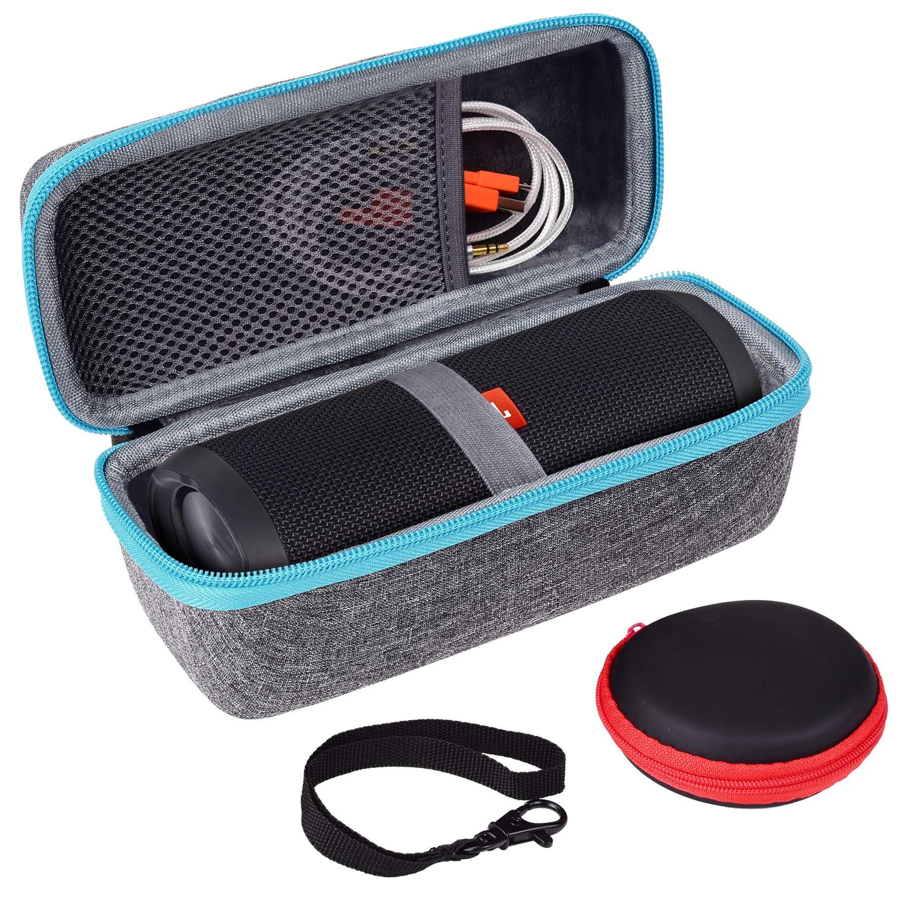 LTGEM Carrying Case For JBL Flip 3 or Flip 4 Wireless Bluetooth Portable Speaker