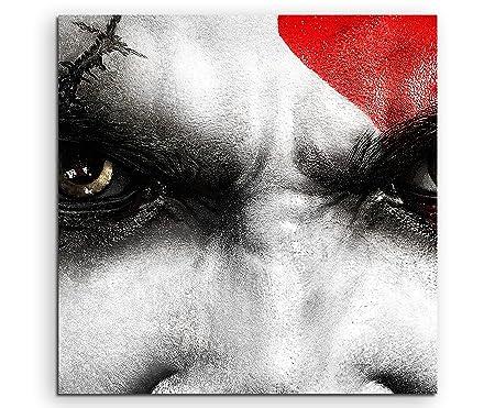 Kratos God of War Lienzo en 60 x 60 cm. Fabricado en ...