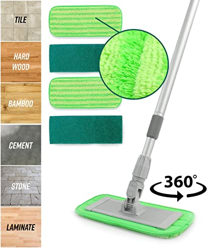 Amazon Aluminum Alloy Microfiber Mop Apartment Version
