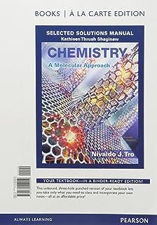Chemistry a molecular approach nivaldo j tro 9780321809247 chemistry a molecular approach selected solutions manual books a la carte edition fandeluxe Image collections