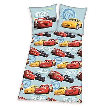 Disney Cars 3 Bettwasche 135 X 200 Cm Mcqueen Cruz Ramirez Flanell