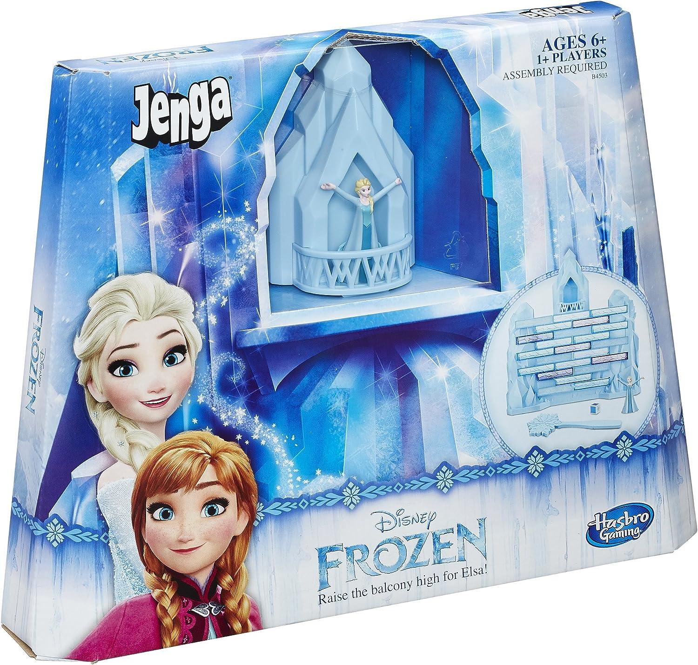 Disney Frozen Jenga Game by Hasbro Anna and Elsa